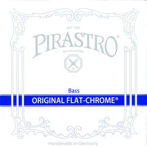 베이스 Pirastro Original Flat-Chrome 세트